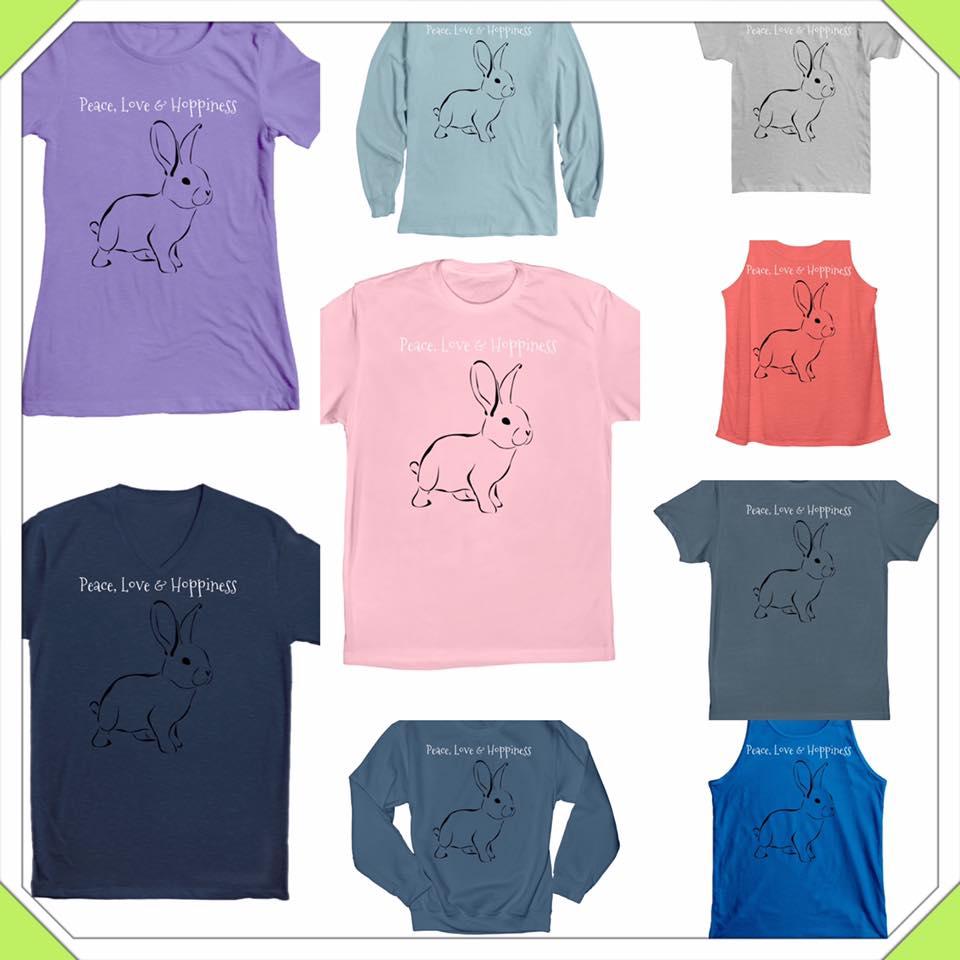 peace love hoppiness tshirts