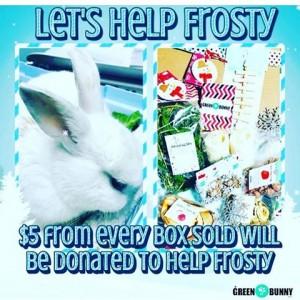 frosty xmas box