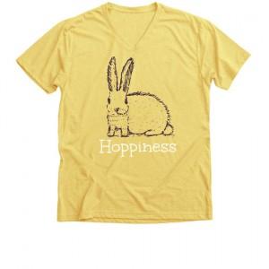 hoppiness t-shirt lv bunnies